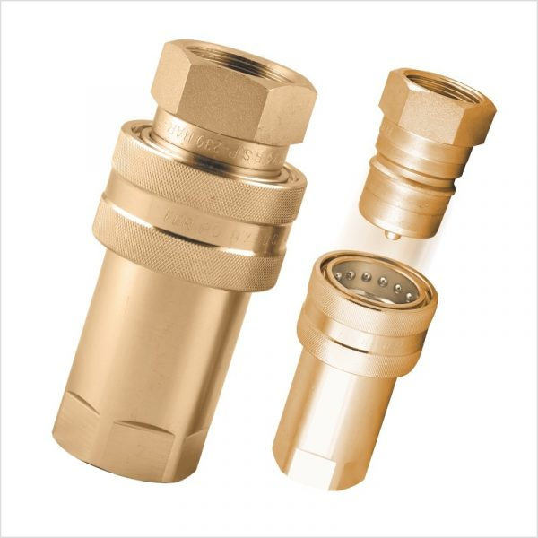 QCBR SERIES BRASS QUICK COUPLING